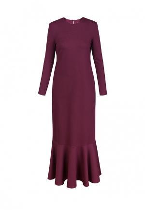 Платье Bella Kareema. Цвет: бордовый