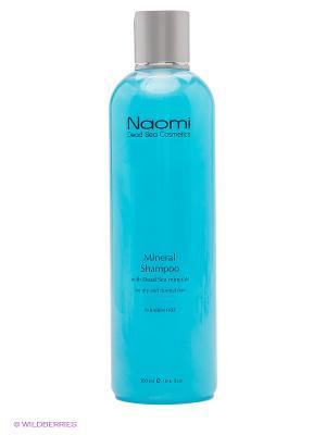 Шампунь с минералами Мертвого моря Naomi Dead Sea Cosmetics. Цвет: светло-голубой