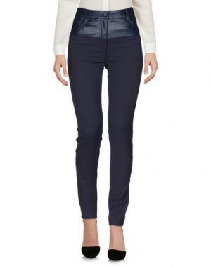 Повседневные брюки ATOS LOMBARDINI. Цвет: темно-синий