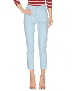 Джинсовые брюки TOMMY JEANS. Цвет: небесно-голубой