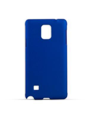 Чехол-панель для Samsung Galaxy Note 4, Soft-Touch, темно-синий Belsis. Цвет: темно-синий