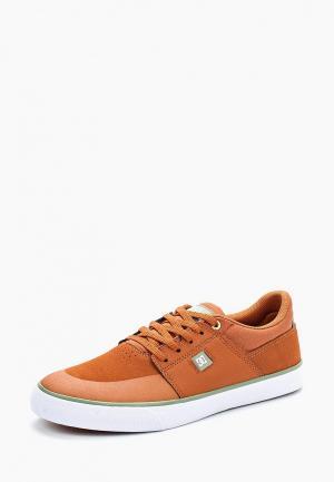 Кеды DC Shoes. Цвет: оранжевый