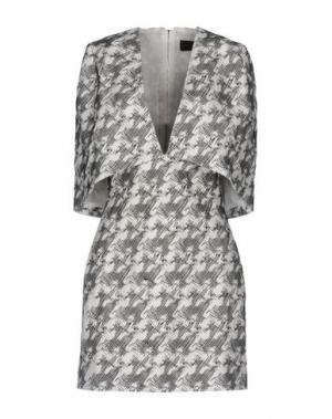 Короткое платье BLESS'ED ARE THE MEEK. Цвет: белый