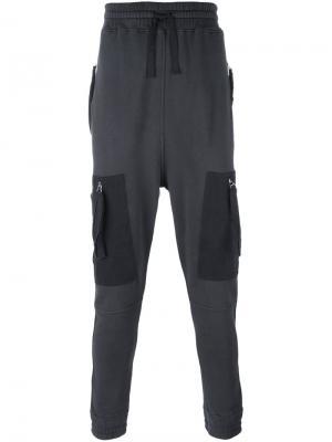 Спортивные брюки Blood Brother. Цвет: серый