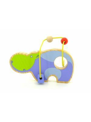 Лабиринт Бегемот LUCY&LEO. Цвет: фиолетовый