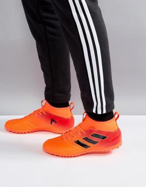 Adidas Оранжевые кроссовки Football Ace Tango 17.3 Astro Turf BY2203. Цвет: оранжевый