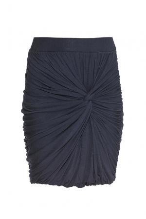 Трикотажная юбка из вискозы PZ-176695 Object. Цвет: синий