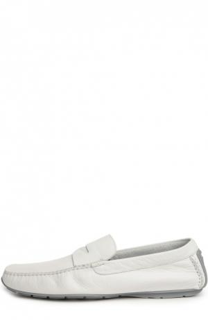 Мокасины Aldo Brue. Цвет: белый