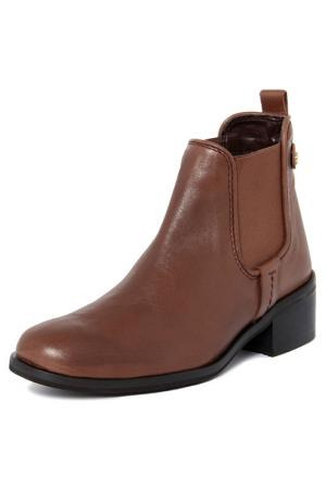 Ankle boots GIANNI GREGORI. Цвет: brown