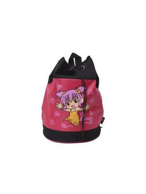 Рюкзак CAGIA. Цвет: розовый, красный