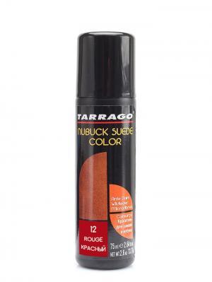 Краситель для замши и нубука, NUBUCK COLOR, флакон, 75мл. (12 красный) Tarrago. Цвет: красный
