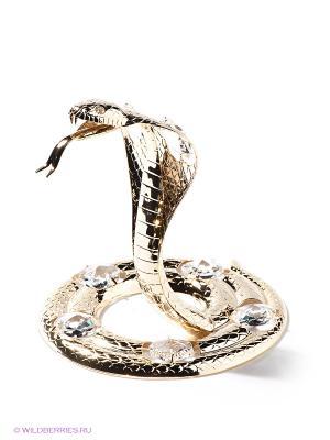 Фигурка Змея Юнион. Цвет: золотистый