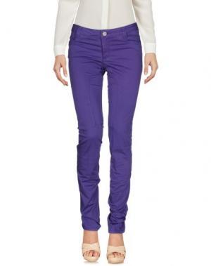 Повседневные брюки SIVIGLIA. Цвет: фиолетовый