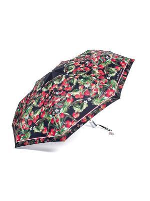 Зонт Slava Zaitsev. Цвет: черный,красный
