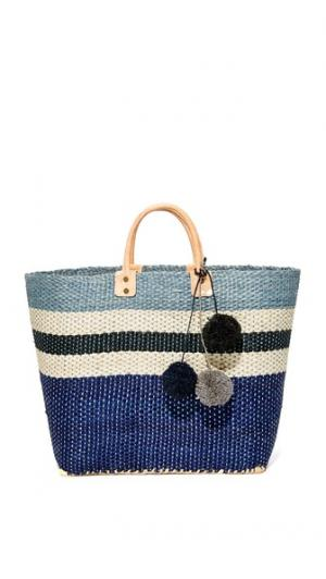 Объемная сумка с короткими ручками Hana Mar Y Sol