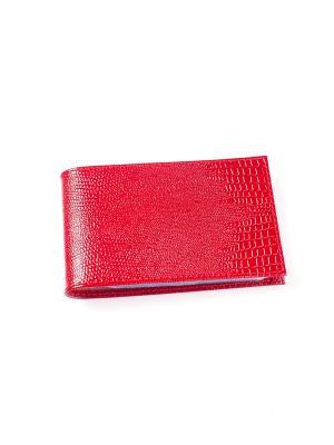 Визитница карманная BEFLER. Цвет: красный