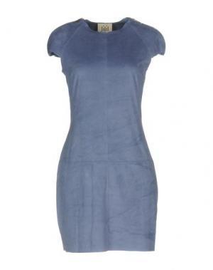 Короткое платье JIJIL. Цвет: пастельно-синий