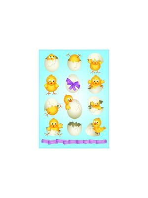 Цыпленок DECORETTO. Цвет: желтый, белый, голубой