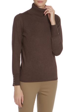 Водолазка METRIC. Цвет: heather brown