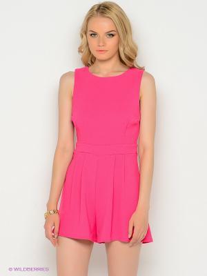 Комбинезон New Look. Цвет: розовый