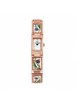 Часы Mikhail Moskvin. Цвет: зеленый, золотистый, темно-фиолетовый