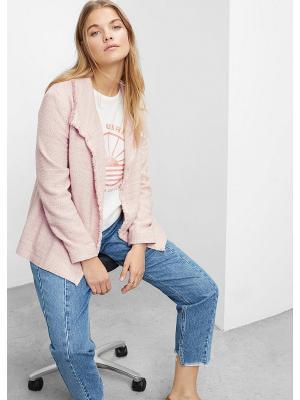 Куртка - SITUS Violeta by Mango. Цвет: бледно-розовый