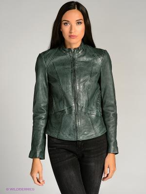 Куртка city girl. Цвет: зеленый