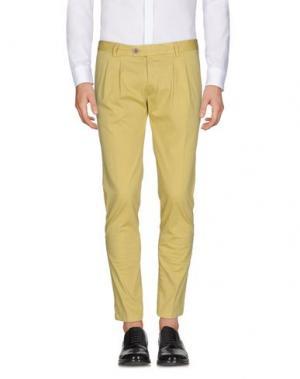 Повседневные брюки HARRY & SONS. Цвет: охра