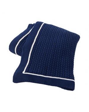 Одеяло LEXINGTON. Цвет: темно-синий