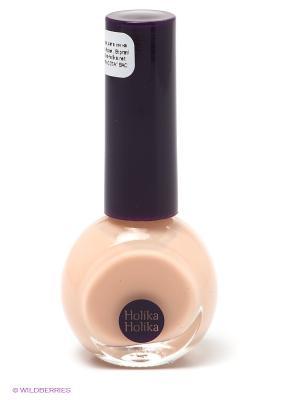 Лак для ногтей Бейсик Неилз BE02 , бежево-розовый, 10 мл Holika. Цвет: кремовый