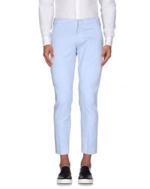 Повседневные брюки ENTRE AMIS. Цвет: небесно-голубой