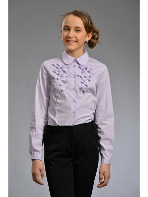 Блузка DESTY. Цвет: лиловый