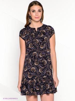 Платье AKIMBO. Цвет: темно-синий