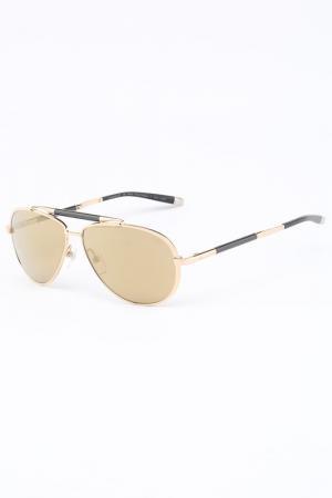 Очки солнцезащитные Charmant ZT. Цвет: золотистый