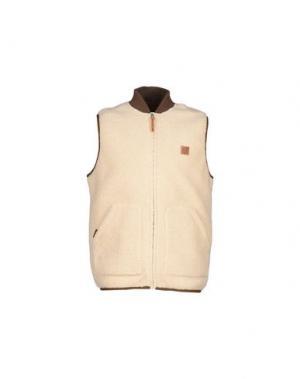 Куртка OBEY. Цвет: бежевый