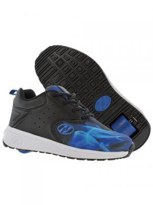 Роликовые кроссовки Heelys Velocity. Цвет: черный, синий