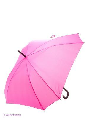 Зонт трость RAINDROPS. Цвет: розовый, бледно-розовый