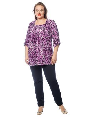 Блуза BERKLINE. Цвет: фиолетовый