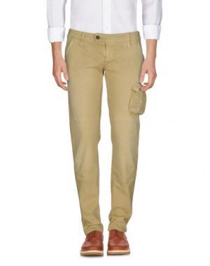 Повседневные брюки NOVEMB3R. Цвет: охра