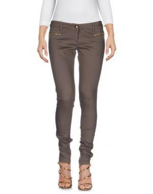 Джинсовые брюки BETTY BLUE. Цвет: светло-коричневый