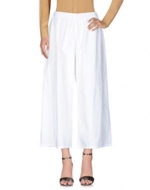 Повседневные брюки COLLECTION PRIVĒE?. Цвет: белый