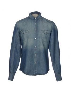 Джинсовая рубашка COAST WEBER & AHAUS. Цвет: синий