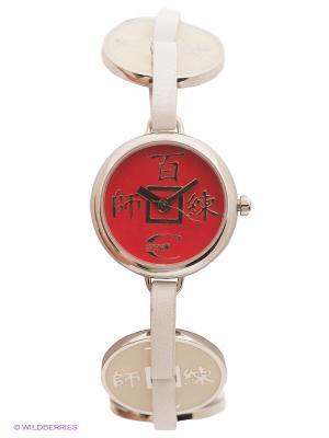 Часы Just Cavalli. Цвет: красный, молочный, серебристый