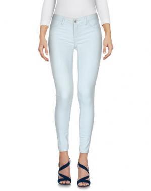 Джинсовые брюки HAIKURE. Цвет: небесно-голубой