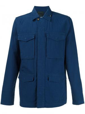 Куртка-карго Denham. Цвет: синий