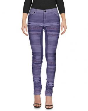 Джинсовые брюки SUPERFINE. Цвет: фиолетовый