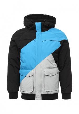 Куртка утепленная Urban Classics. Цвет: разноцветный
