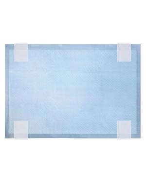 Подстилки впитывающие для туалета на липучках, 45х60см (12шт.). TRIOL. Цвет: белый, голубой