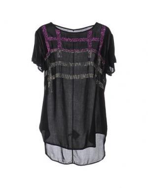Блузка BRAND UNIQUE. Цвет: черный