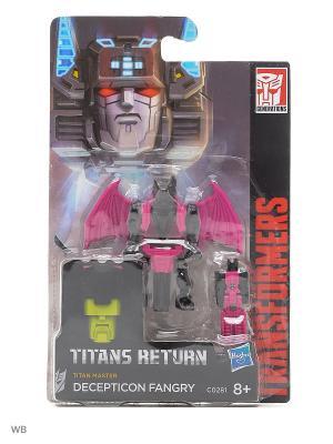 Дженерэйшнс Войны Титанов: Мастера Титанов Transformers. Цвет: черный, малиновый